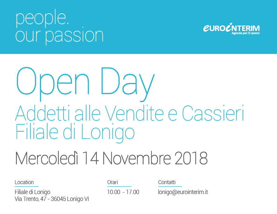 Open Day Eurointerim Lonigo