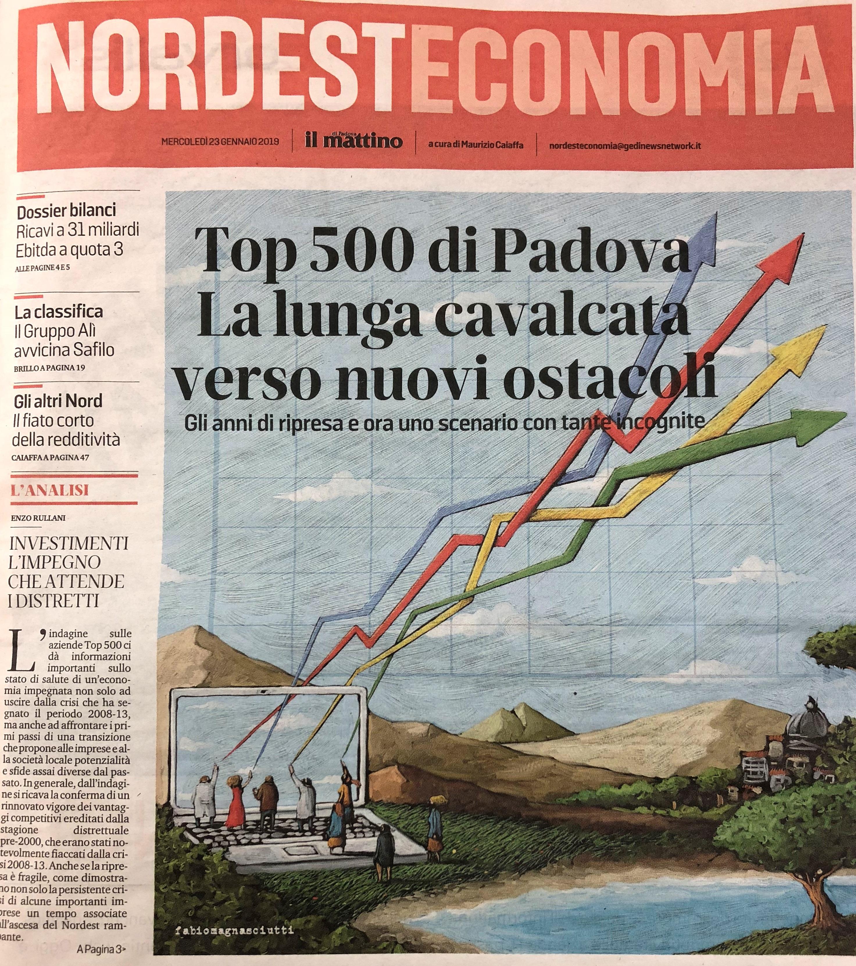 TOP 500: Eurointerim tra le aziende con maggiore crescita e con il debito più sostenibile