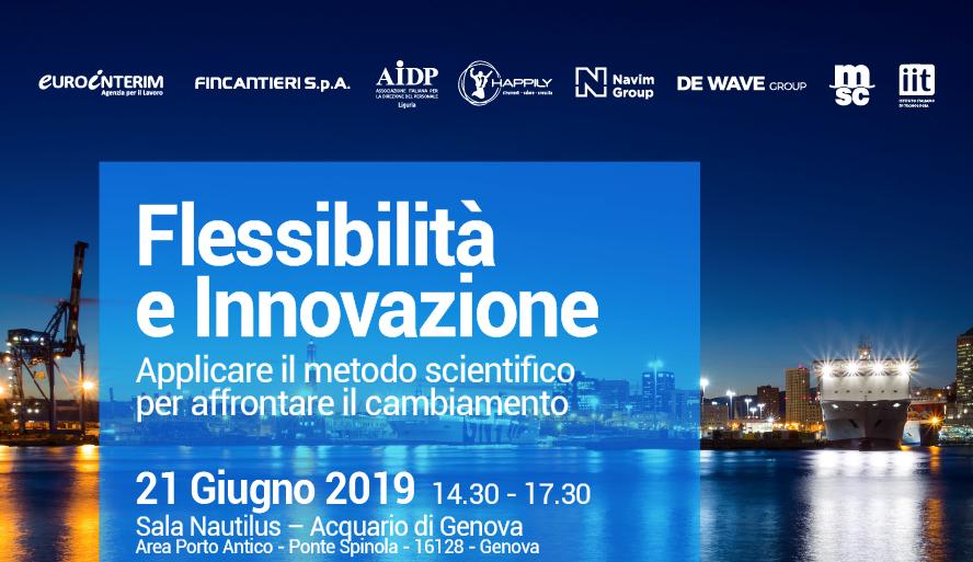 Save the date - Flessibilità e innovazione all'Acquario di Genova