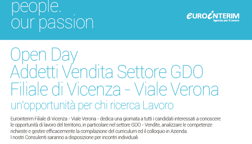 Open Day Eurointerim Vicenza