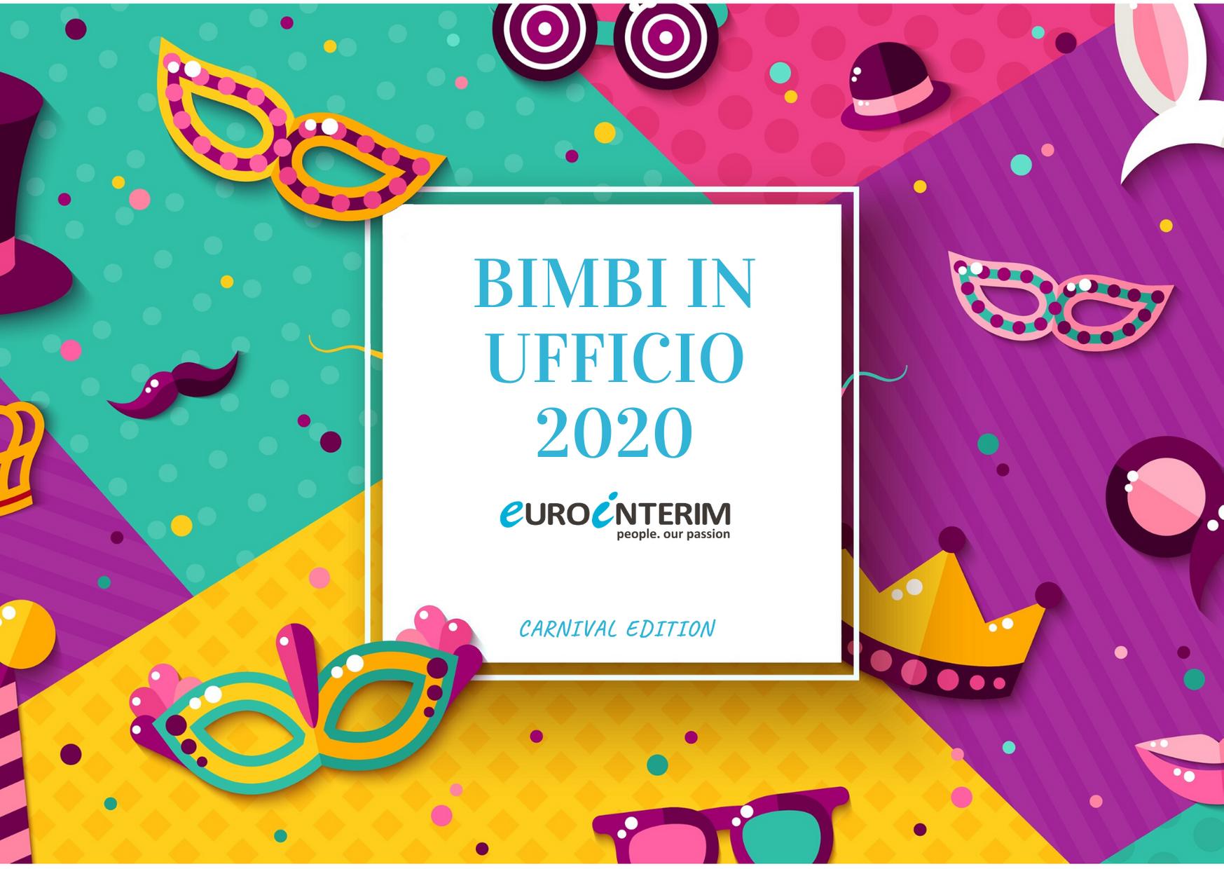 Bimbi in Ufficio Eurointerim 2020